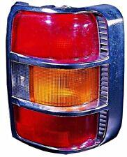 Mitsubishi Pajero Montero 1998 1999 Tail Light With Chrome Frame Amber Left Lh