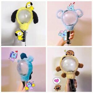 Detalles De Kpop Bangtan Boys Bts Bt21 Chimmy Shooky Light Stick Plush Head Cover Lightstick