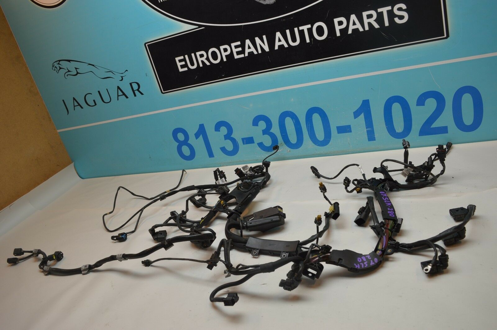 06 MERCEDES SLK 280 R171 Engine Motor Cable Wiring Wire Harness Loom ...