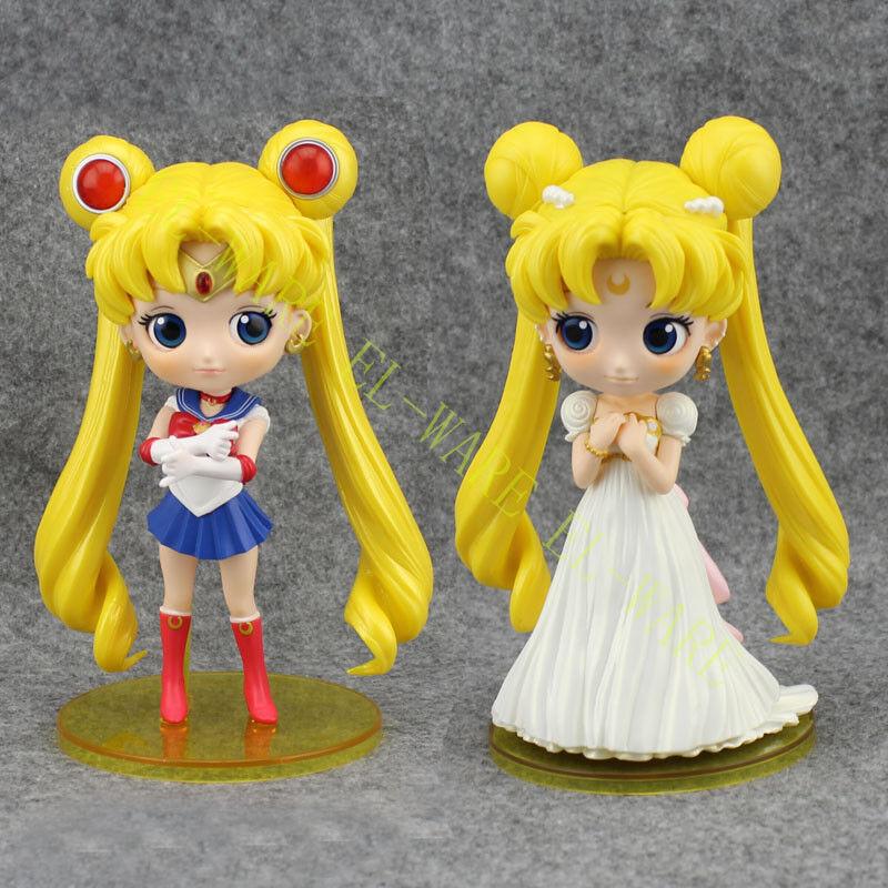 Q Posket Japon Anime Sailor Moon Series 7   20th Anniversaire Figurine Modèle  prima qualità ai consumatori