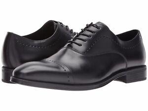 Men-039-s-Shoes-Kenneth-Cole-Design-102212-Cap-Toe-Oxford-KMF7LE030001-Black-New