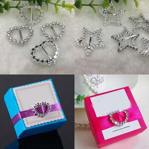 30pc Silver Plastic Buckle Ribbon Slider Diy Craft Wedding