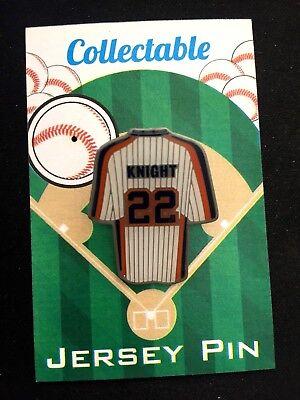 Niedrigerer Preis Mit New York Mets Ray Knight Revers Pin-collectable-1986 World Series Moderater Preis Fanartikel Weitere Ballsportarten