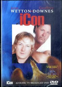 JOHN WETTON   GEOFF DOWNES  Icon Acoustic tv broadcast  DVD SEALED