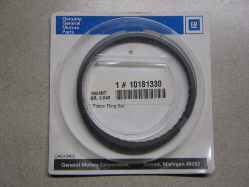 GM 10181330 Piston Ring Set