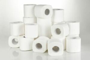 72 x 16m 2Ply Toilet Roll Quilted Embossed Paper Luxury Tissue Rolls Bulk