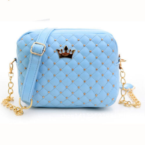 Fashion Women Shoulder Bags Leather Rivet Chain Messenger Bag Crossbody
