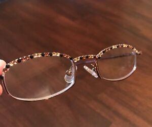 37bd16f563cd JC Jimmy Crystal New York GL180   Swarovski   Reading Glasses +1.5 ...