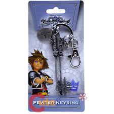 Kingdom Hearts Oathkeeper Key Chain Licensed Pewter Metal Key Ring