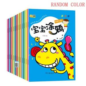 Water Reveal Book Coloring Book Writing Painting Magic Pen Kids ...