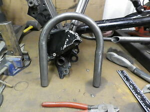Image Is Loading CAFE RACER STREET TRACKER SEAT FRAME LOOP HOOP