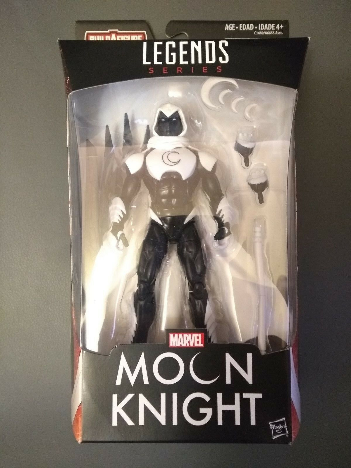 Hasbro Marvel Legends Vulture BAF Moon Knight Action Figure