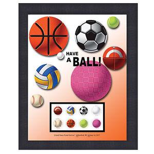 USPS-New-Have-a-Ball-Framed-Art