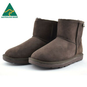 Mubo-UGG-Classic-Mini-Sheepskin-Boots-Chocolate-Australian-Made