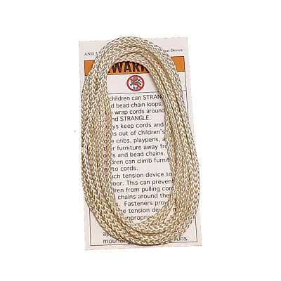Off White // Ivory Continuous Loop Cord Blind String Hunter Douglas 2.7mm 6 ft