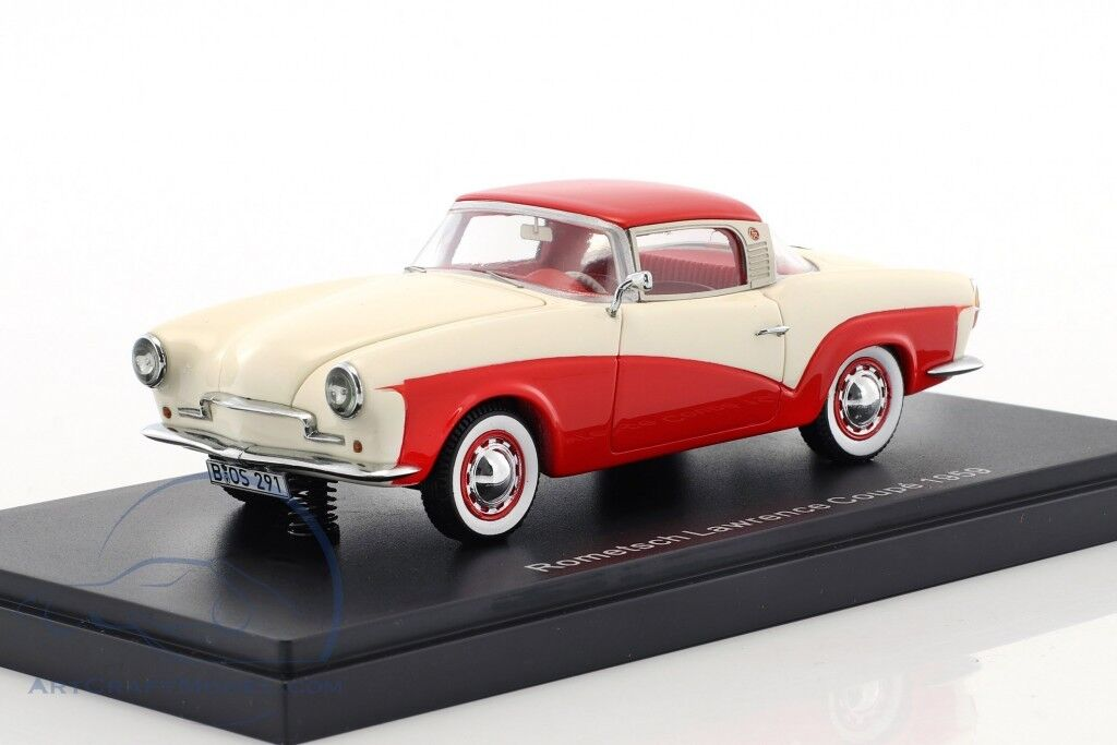 BOS 1 1 1 43 ROMETSCH LAWRENCE COUPE 1959 2ce300