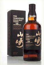 Yamazaki 18 Single Malt Japanese Whisky