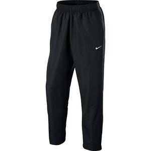 Mens Nike Season Swoosh Lined Running Pants Black Grey Various Sizes ... ae073f944