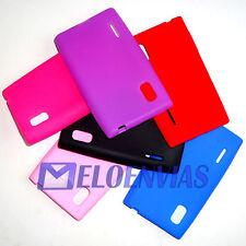 2 Fundas carcasa silicona para LG Optimus L5 E610 Colores Varios Elige