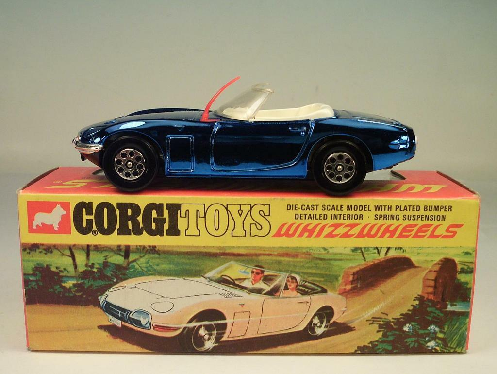 CORGI toys whizzwheels 375 toyota 2000 GT Nº 1 OVP  3763
