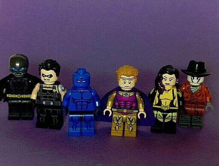 Lego Egen väktare Sex minifigurer UV Tryckta