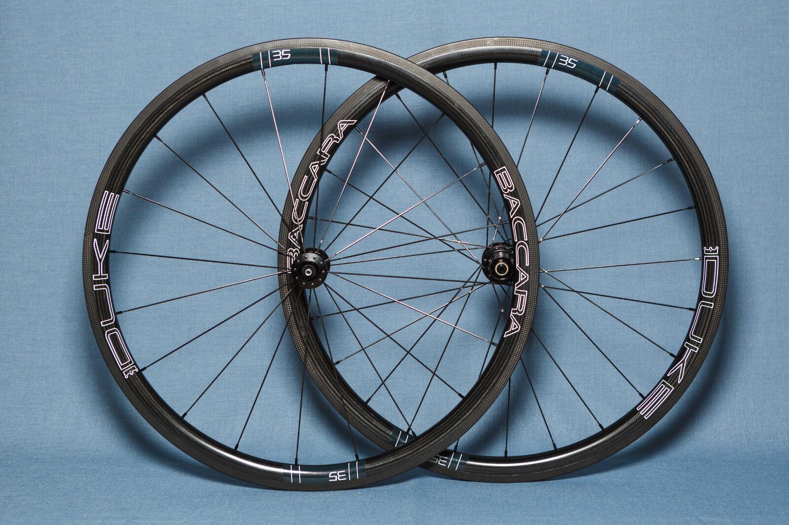 NEW DUKE Baccara  35mm DT Swiss 350 Tubular Carbon Road Bike Wheelset 11 Speed  online-shop