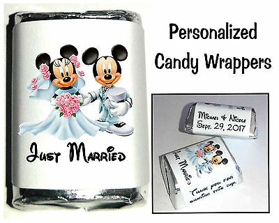 Disney Mickey Graduation ~ Candy Wrapers Nugget Labels Wrappers~Personalized