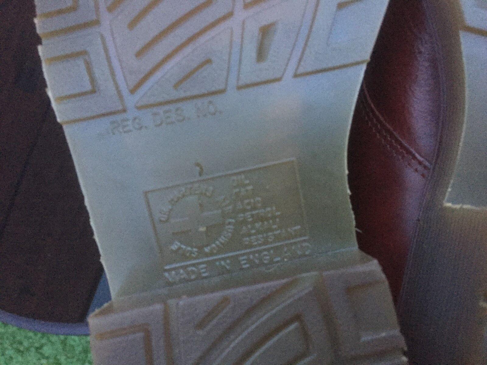VINTAGE Dr Martens 8360 TAN Marroneee IN PELLE TG EU EU EU 39 Made in England 50025f