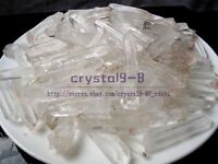 1/4lb 100% NATURAL Lemurian Seed CLEAR Quartz Crystal Polishing Point Specimen