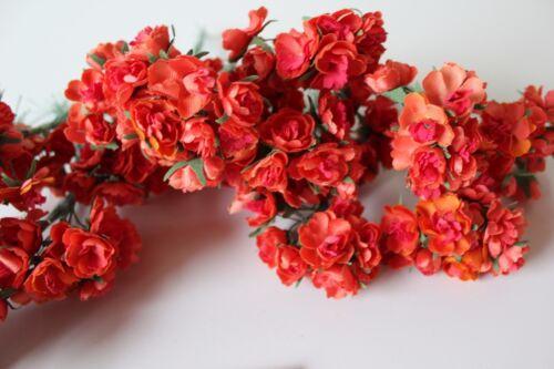 Blütenstempel Sträußchen Seidenmistel Primeln Blumen zum basteln Kunstblumen