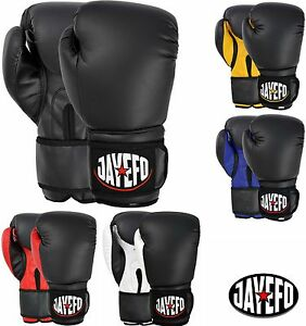 JAYEFO-BEGINNERS-LEATHER-BOXING-MMA-MUAY-THAI-KICK-BOXING-SPARRING-GLOVES-MMA