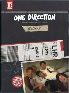 ONE DIRECTION Take Me Home LIMITED EDITION YEARBOOK MALAYSIA FOLIO DIGIPAK CD