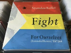 Spandau-Ballet-Fight-For-Ourselves-12-034-Single-45rpm-OOP-NM-NM-POLP2797