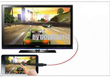 MHL Micro USB to HDMI HDTV Cable Adapter for Samsung Galaxy SIII S3 S4 Note 2*