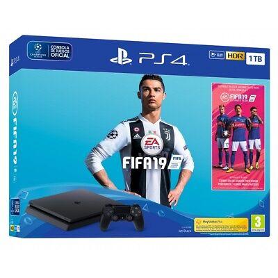 Comprar PS4 1TB + JUEGO FIFA 19 + PSPLUS 14 DÍAS CONSOLA PLAYSTATION 4 + FIFA19