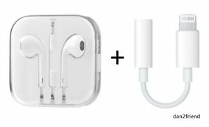 Authentic apple earphones iphone 6 - iphone 7 earphones