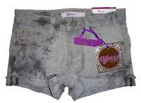 Great $20.00 Us Sz 8 Girl's Denim Yaso Grey Stretch Shorts Adorable