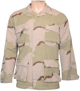 Esercito Militare Camicia Taglie Le Nuova Giacca Camo Desert Tutte qUCn77tx
