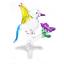 bird-7-hand-blown-clear-glass-miniature-figurine-crystal-dollhouse-art-animal thumbnail 2