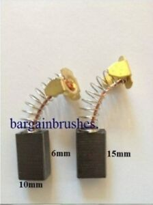 Carbon Brushes to fit Titan TTB591ROU router pair new TTB591 ROU  1250W  E28