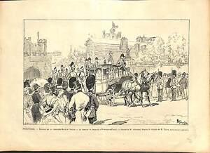 WEDDING Maud of Wales Haakon VII of Norway Buckingham Palace LONDRES PRINT 1896 - France - EBay ANTIQUE PRINT GRAVURE 100 % DÉPOQUE 1896 PORT GRATUIT EUROPE A PARTIR DE 4 OBJETS BUY 4 ITEMS AND EUROPE SHIPPING IS FREE Il s'agit d'un fragment de page originale avec texte au dos qui n'a rien avoir avec l image, il ne s'agit pas d'une re - France