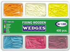 Dental Wooden Wedges For Dental Matrices Matrix 400 Pcs 6 Types Full Set Tor Vm
