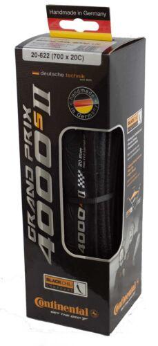 New 2018 Continental Grand Prix 4000s II Clincher Black 700x20c Road Bike Tire