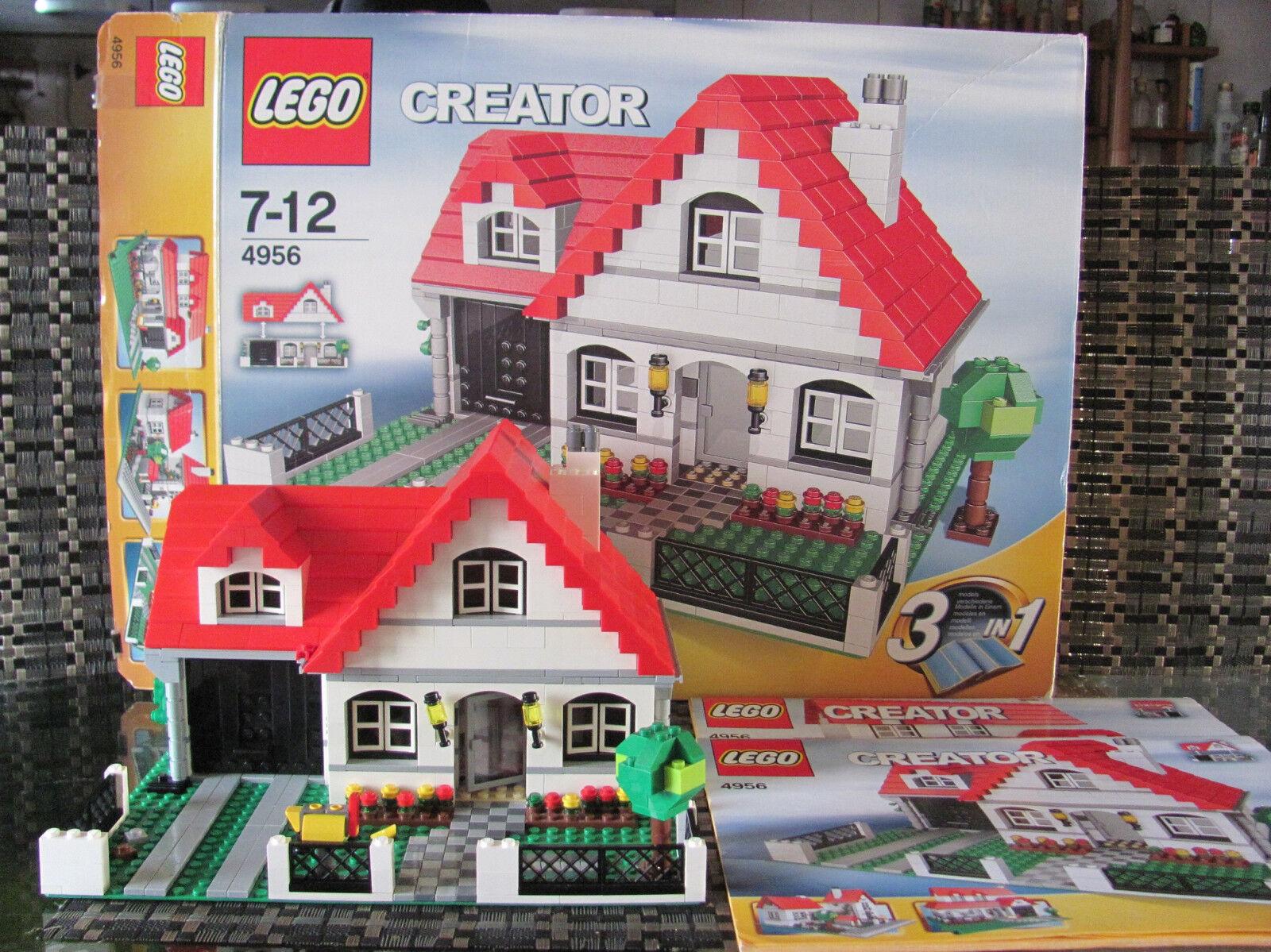 LEGO creator maison 4956 3 bauvarianten avec ba U. des neuf dans sa boîte
