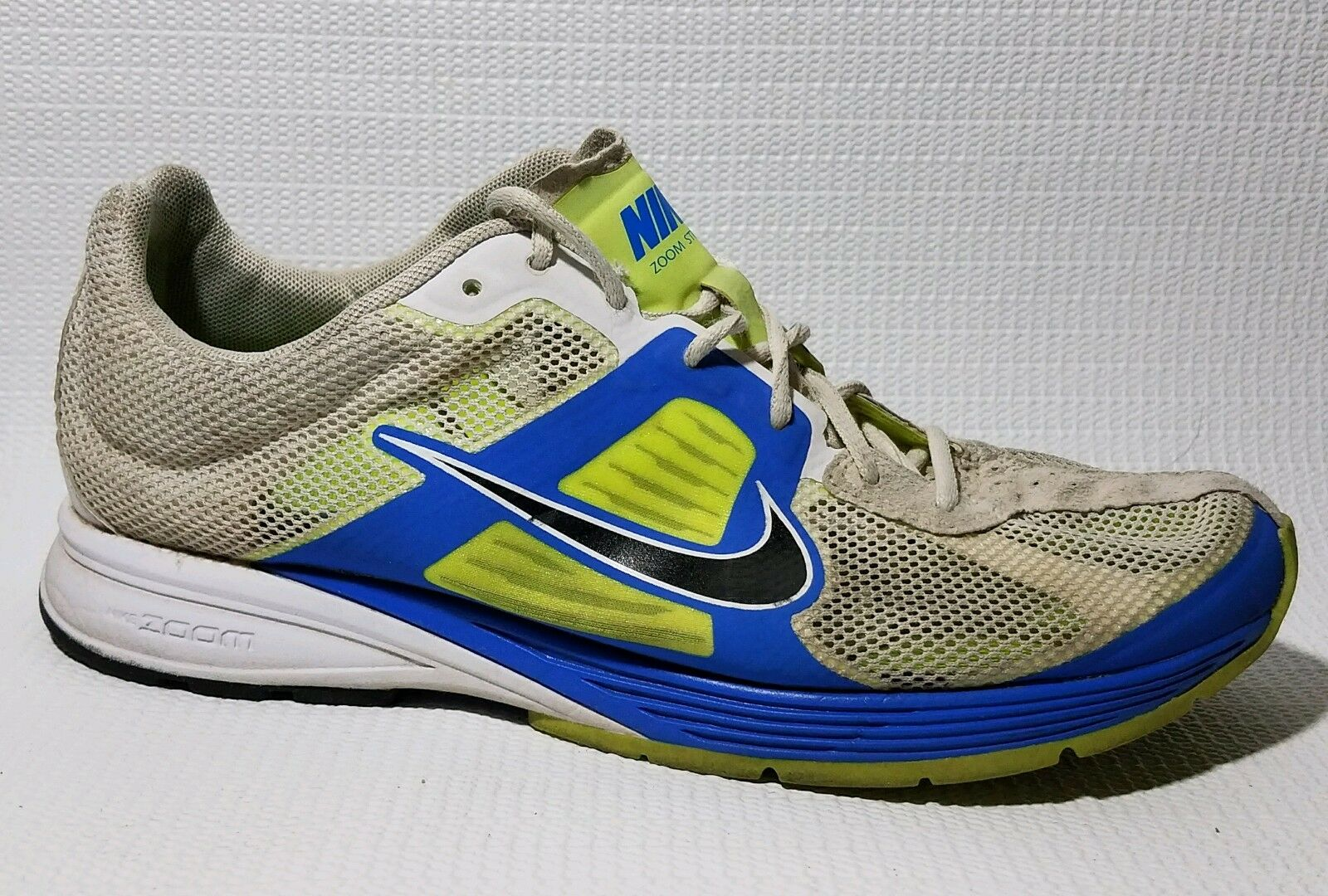 Nike Zoom Streak Mens 7.5 M Shoes 511591-174 Sneaker Running Light Weight White The most popular shoes for men and women