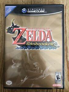Legend-Of-Zelda-The-Wind-Waker-Nintendo-Gamecube-Complete-W-box-amp-Manual