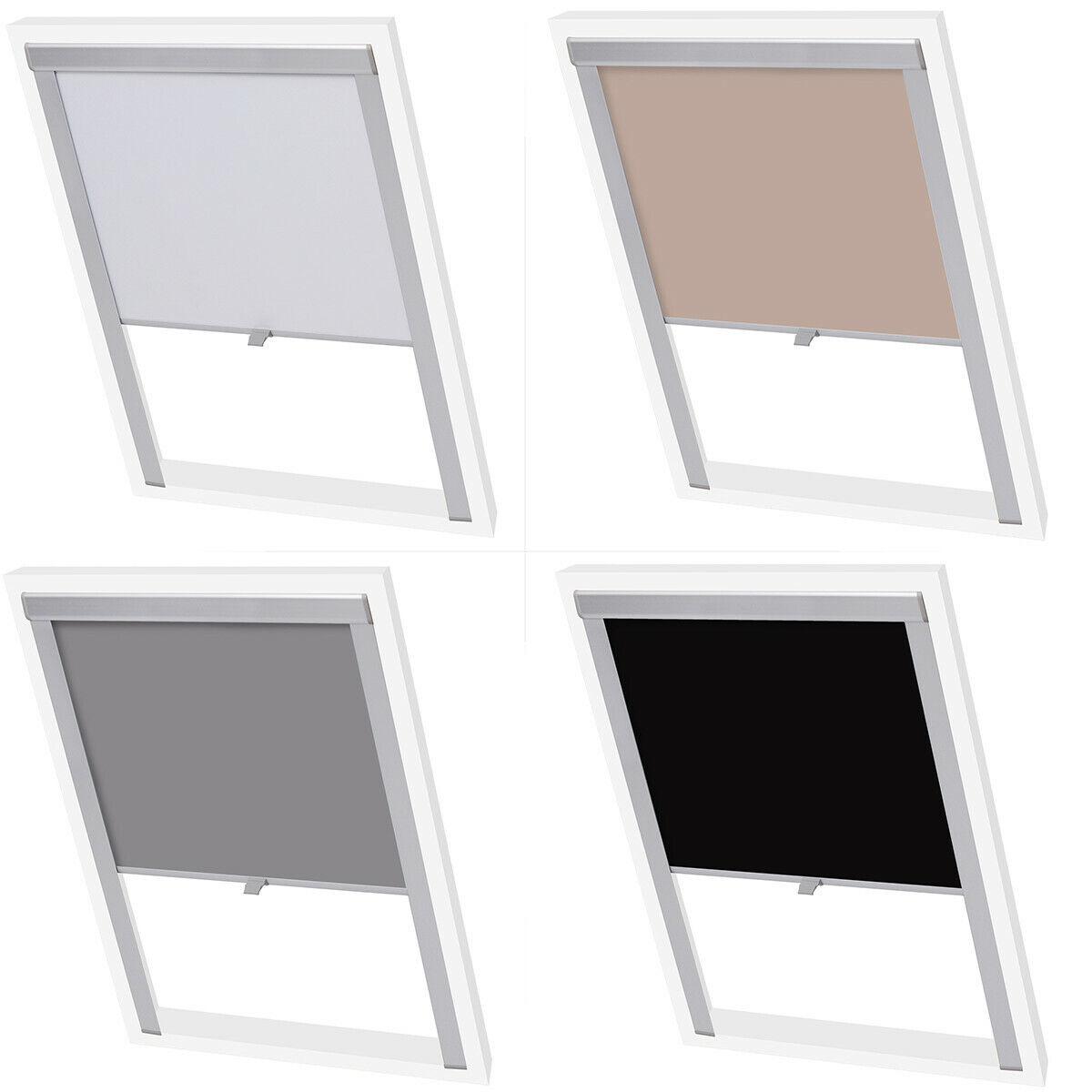 C02 VELUX Original Blackout Blind Roof Windows Silver Frame DKL Dark Blue