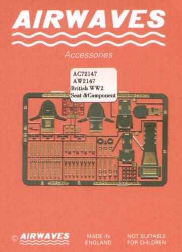 Airwaves 1//72 British WWII sièges Etch # AEC72147