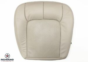 2005-2011 Cadillac STS Driver Side Bottom Perforated Leather Seat Cover Tan