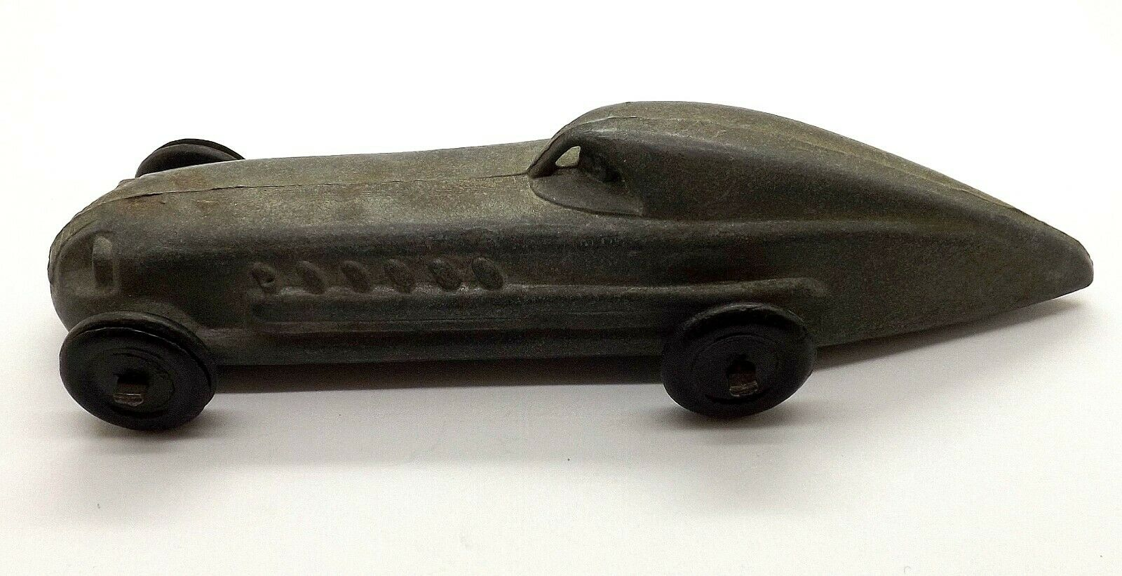 ANTIQUE 1920'S TOOTSIE OR TIP TOP TOY OR DIECAST TOY CAR RACE CAR
